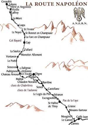 Дорога Наполеона из Маноска (Manosque) - туристические маршруты по Провансу